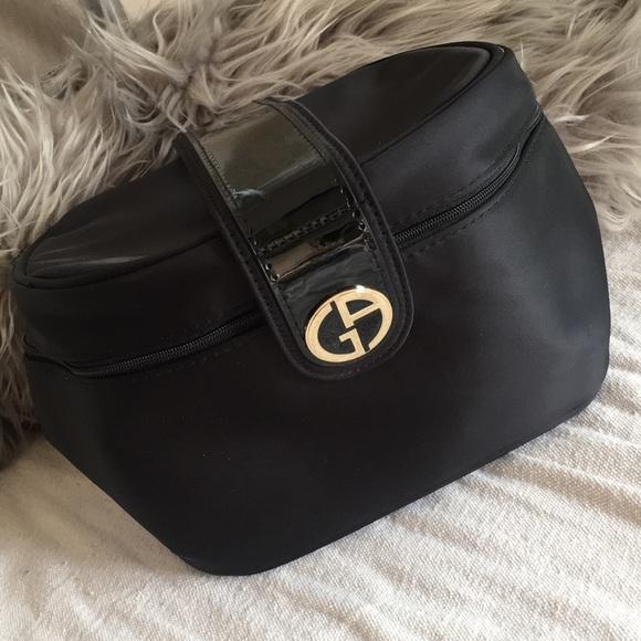 Giorgio Armani Handbags - Giorgio Armani train Case Cosmetic Bag 8479911d3b140